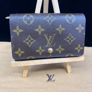 LV645 Monogram Canvas Tressor Wallet
